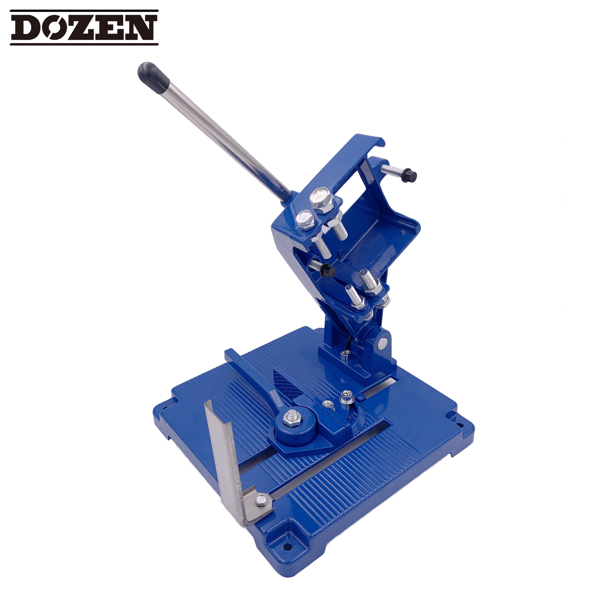 DrillDozen Angle Grinder Stand Bracket Cutter Support 115-125mm Clamp Tools DS6104