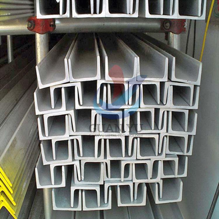SUS304 stainless steel channel bar c shape u channel price list
