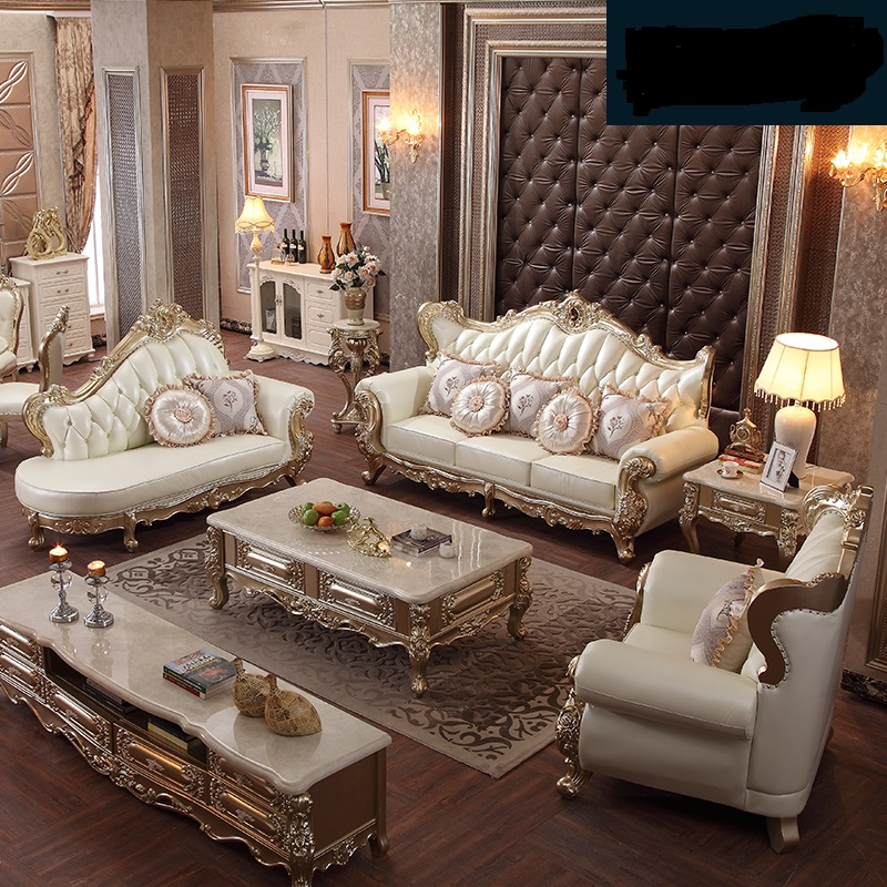 Foshan factory EUROPEAN antique style living room sofas top quality sofa set furniture living room furniture