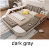 Fabric dark gray