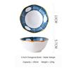 (8) Japanese Octagonal Bowl