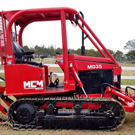 MCM MD35 Новый 35HP мини-бульдозер Гусеничный Многофункциональный высокоэффективный компактный Прочный Компактный бульдозер для продажи