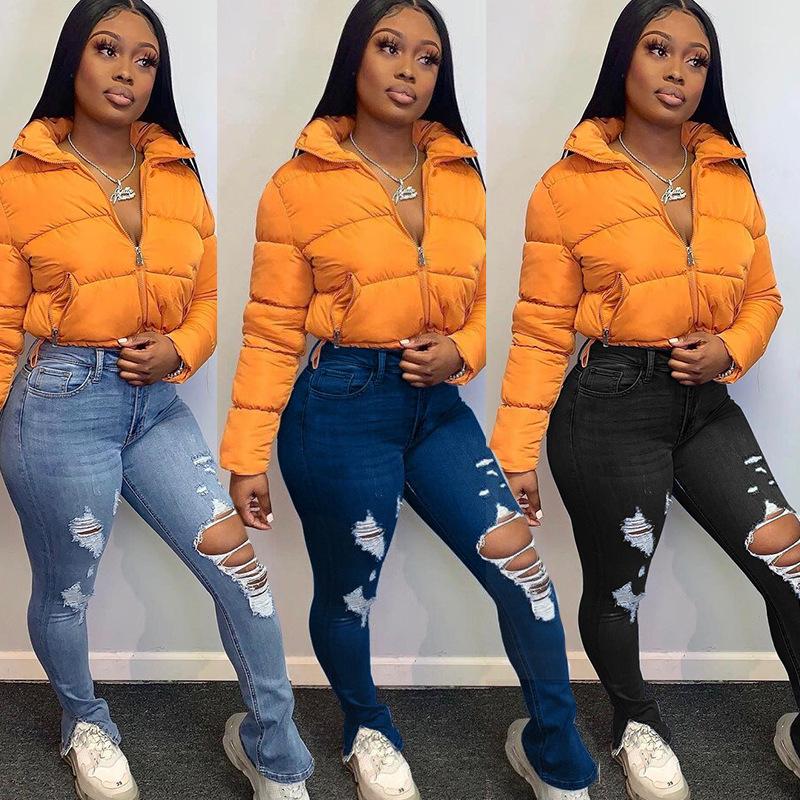 Al Por Mayor Venta Al Por Mayor Nuevo Moda Plus Tamano Casual Delgado Borla Cintura Baja Agujero Jean Pantalones Vaqueros Para Las Mujeres Buy Jeans Mujer Jeans Rasgados Mujer Pantalones Vaqueros Product On