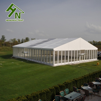 carpas para eventos aluminium frame glass wall 20m clear span tent in stock