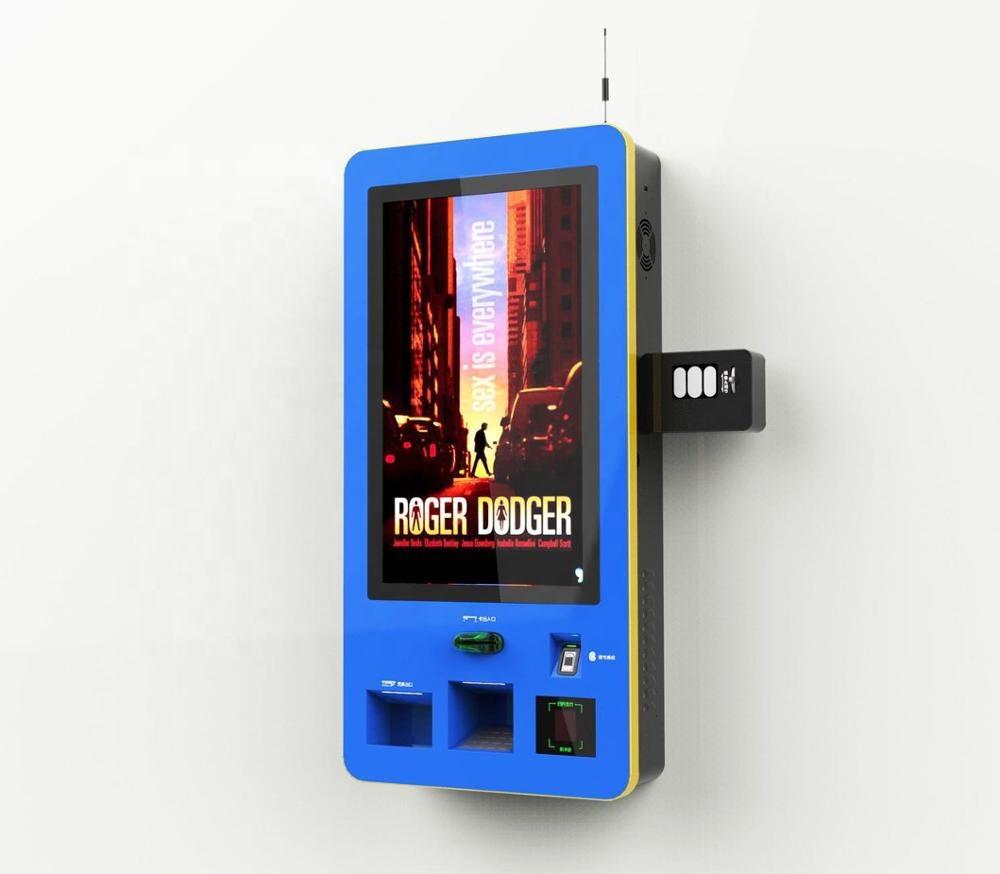 Киоск с сенсорным экраном 23,6 дюйма с принтером 58 мм