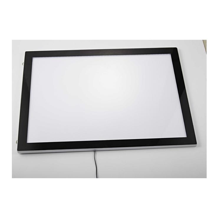 Магнитная рамка для дисплея, рекламная световая рамка, светодиодная световая рамка для оптовых продаж