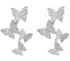 C1 silver earring