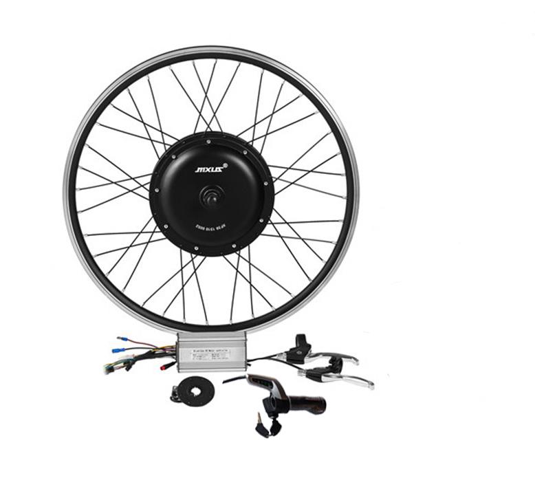 Лидер продаж, бесщеточный Электрический велосипед 48 в 500 Вт, комплект для переоборудования электровелосипеда