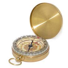 Чистый медный Раскладушка Компас с портативным компасом карманные светящиеся часы инструмент измерения многофункциональная наружная лин...(Китай)