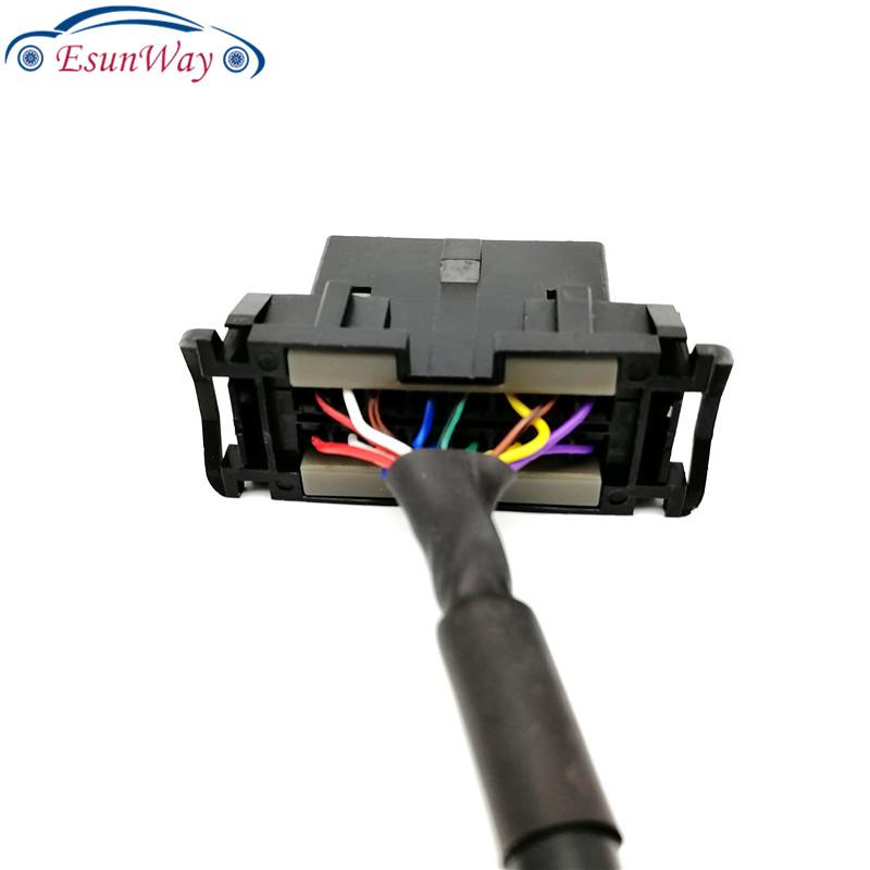 OBD2 16Pin 1 мужчина к двойной женский удлинитель с перегородкой OBD 2 Авто Диагностический кабель разъем адаптера OBD2 разъем <span style=
