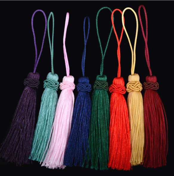 2021 New hand-woven tassel for jewelry