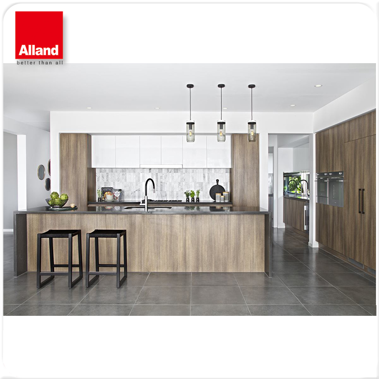 Maple Timber Wood Hpl Laminated Finish Kitchen Cabinet Buy High Quality Maple Timber Wood Prefab 600mm Decorating Above Kitchen Wall Units 60 Inch Kitchen Corner Sink Base Unit Inset Plastic Laminate Cabinets Inexpensive