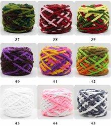 wholesale chunky chenille velvet yarn chenille yarn crochet yarn hand knitting