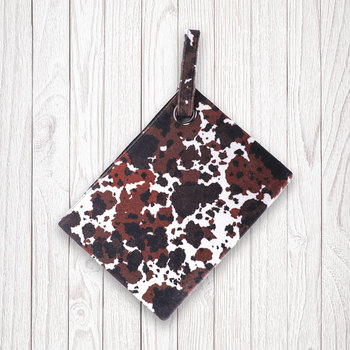 Women Cowhide with Hair Oversized Clutch Bag Designer Large Capacity Clutch Handbag Lady Wristlet Purse Evening Bag For Girls