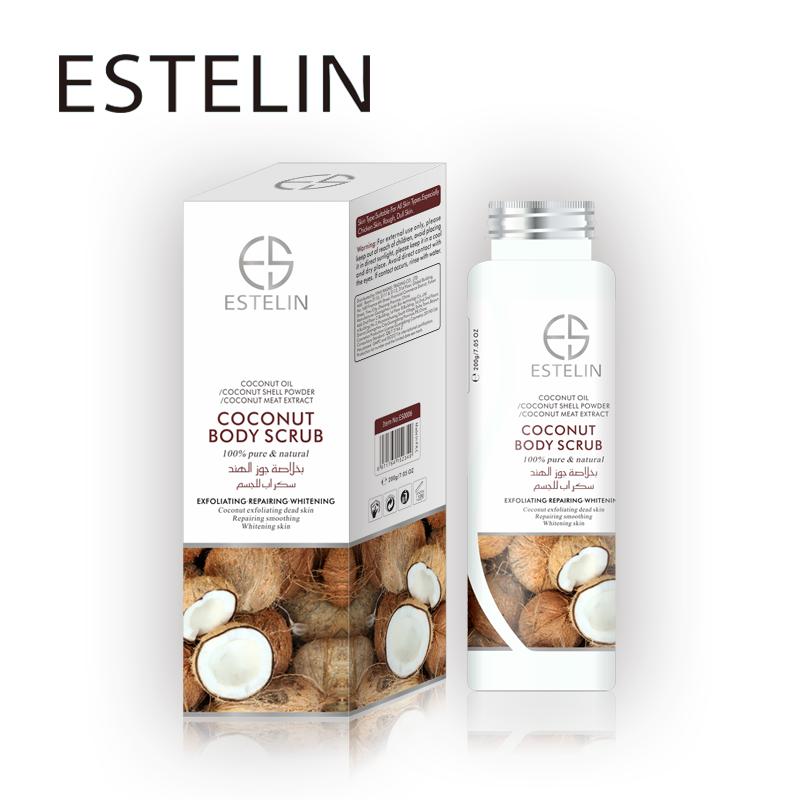 New Coming ESTELIN Moisturizing Coconut Body Scrub Exfoliating Bath Salt