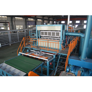 Large capacity paper egg tray making machine egg tray production line