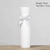 WHITE-Cheongsam ceramic vase