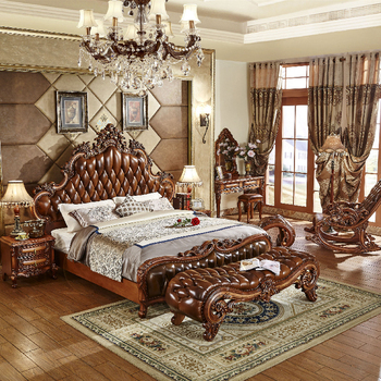 royal luxury classical king size beds bedroom furniture sets for sale