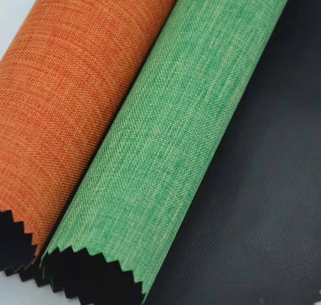 Отличная цена полиэстер 300D катионный двойной цвет ткань Оксфорд ПВХ сумка ткань Снежная ткань танец дракона ткань