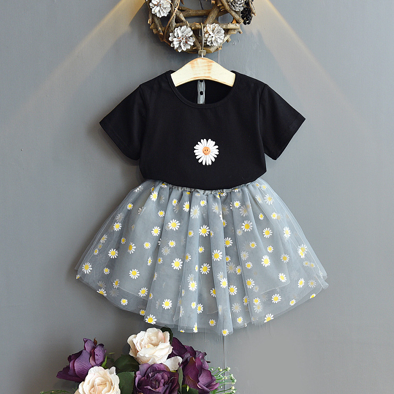 Wholesale Baby Girls Flower Skirt Set 2 Pcs For Summer Outfit Skirt And Top  Sets For Kids - Buy Skirt And Top Sets For Kids,Girls Skirt And Top Sets,Kids  Skirt And Top