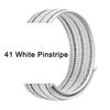 41 White Pinstripe