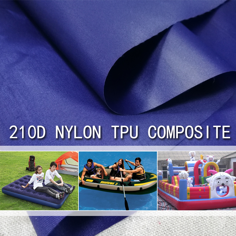 210D nylon oxford fabric with TPU coating inflatable cushion air mattresses fabric