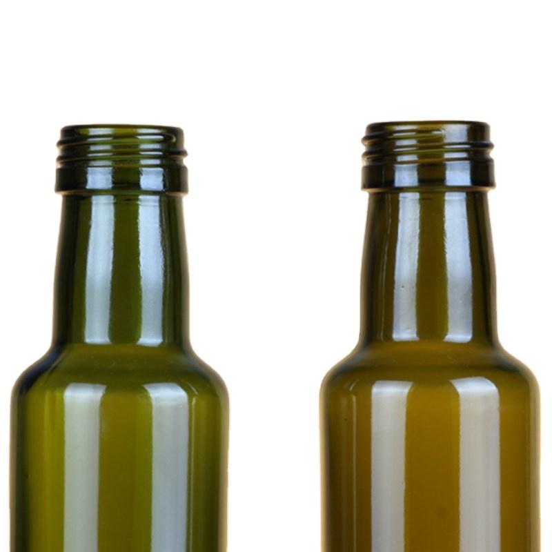 Стеклянная бутылка оливкового масла зеленого цвета, 250 мл, 500 мл, 750 мл, бутылка dorica marasca