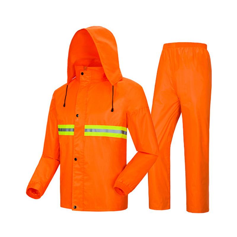 Manteau imperméable en Polyester Polyester à Double couche, imperméable, hygiène de l'environnement