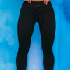 Schwarz leggings