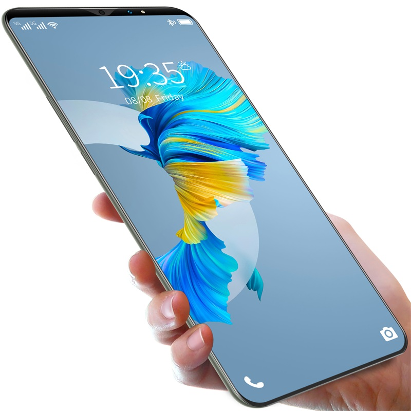 2021 New Design Mate40 pro Smartphone 6.1 Inch with 6+128GB Large Memory Smartphone Mobile Phone with 4G/5G Dual Sim Card