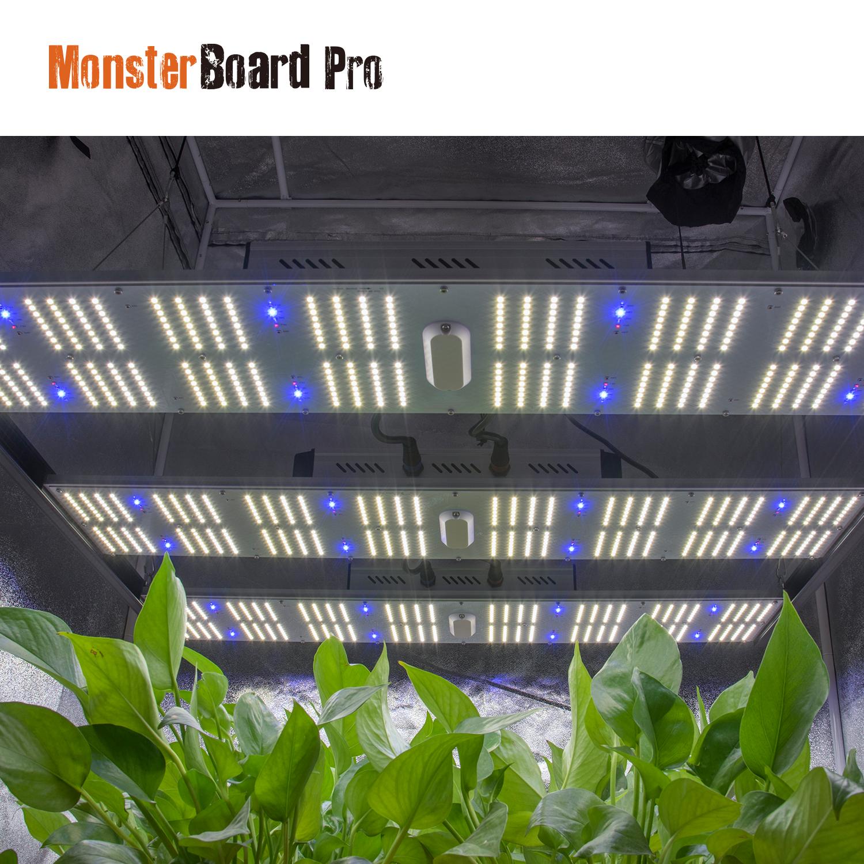 Geeklight 720w led grow light veg/bloom full spectrum monster board pro with lm301b lm301h