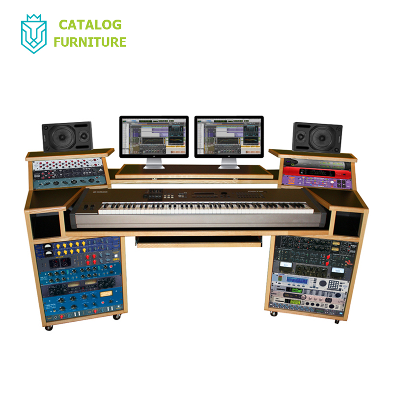 Musician recording studio desk studio workstation desk home recording studio desk