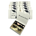 Individual 25Mm 3D Mink Magnetic Custom Packing Box Eyelashes Easy Fanning Tweezers Private Label False Eyelash Extensions