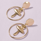 Fashion Rose Earrings Rose Earring High Quality Hot Selling 2020 Trend Fashion Low Moq Rose Gold Brass Earrings Jewelry Women