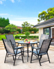 Folding chair round table