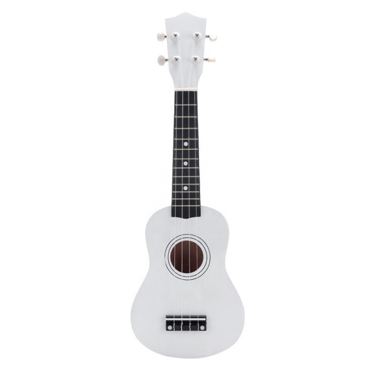 New factory supply natural wood bass acoustic guitar ukulele for kids