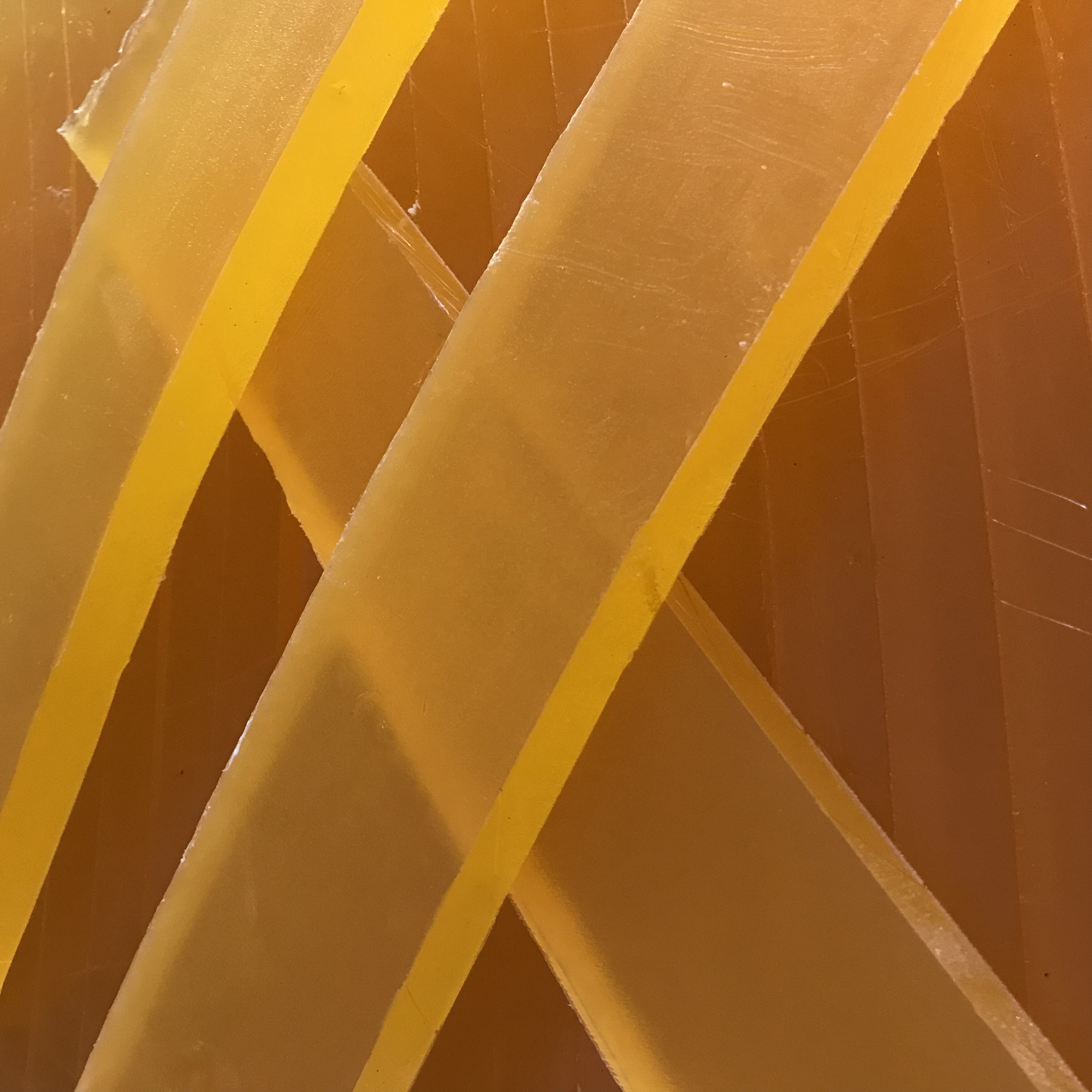 wholesale handmade customized gold color honey melt and pour glycerine soap base