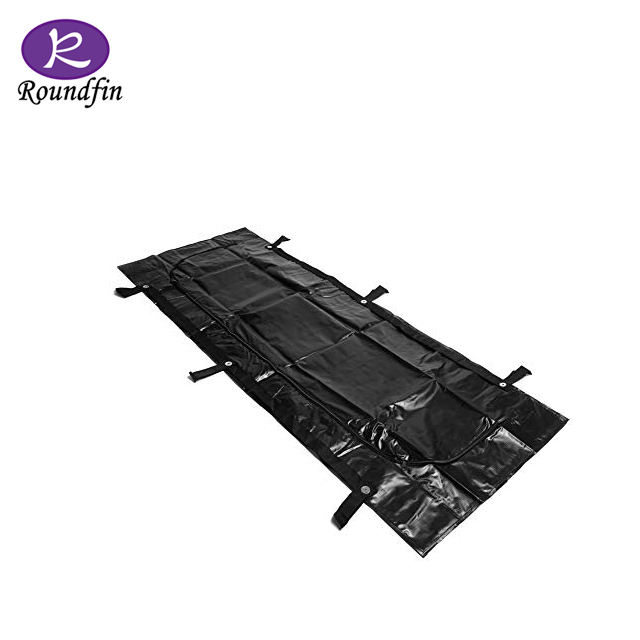 ROUNDFIN PVC corpse cadaver body bags for dead bodies