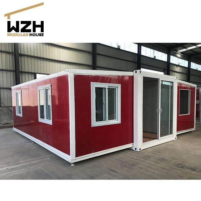 Портативный плоский контейнер для взрослых, модульный дом для Африки от китайского поставщика