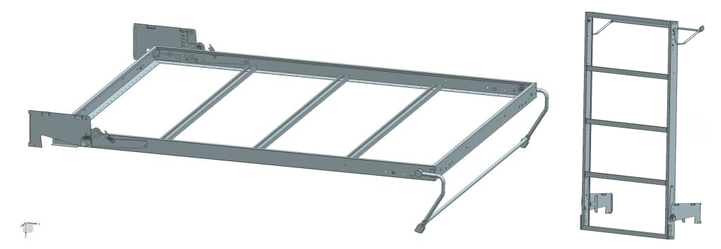 High quality affordable sofa bed and Murphy bed folding wall bed hardware kit with spring mehcanism