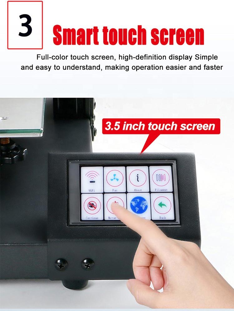 High Quality Desktop FDM S-20 3d Printer Home Color 3d Printer