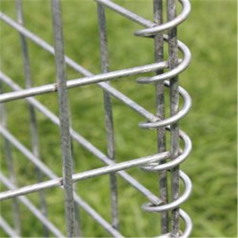 factory customization 2x1x1m welded gabion basket welded gabion sand barrier high quality welded gabion mesh