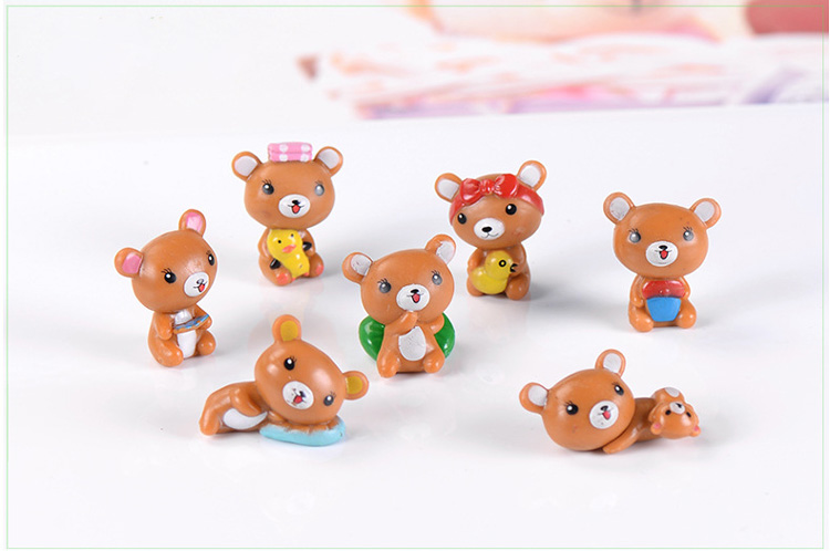 100Pcs Kawaii Resin Cartoon Princess Flatback Anime Character Girls Figurines Bow Embellishment Hair Bow Center Jewelry Crafts