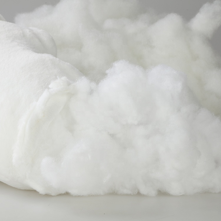High Quality Polyester Fiber 15d*64mm Non-Siliconized Filling materials