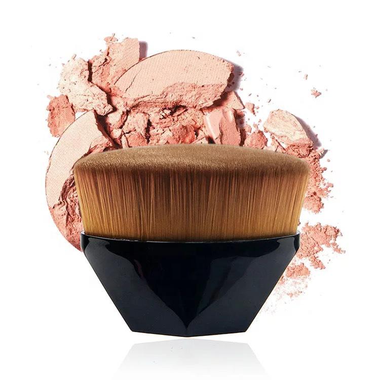 Hot sale 2019 New Flat BB Cream kabuki kabuki rhombic portable Single Makeup Brush