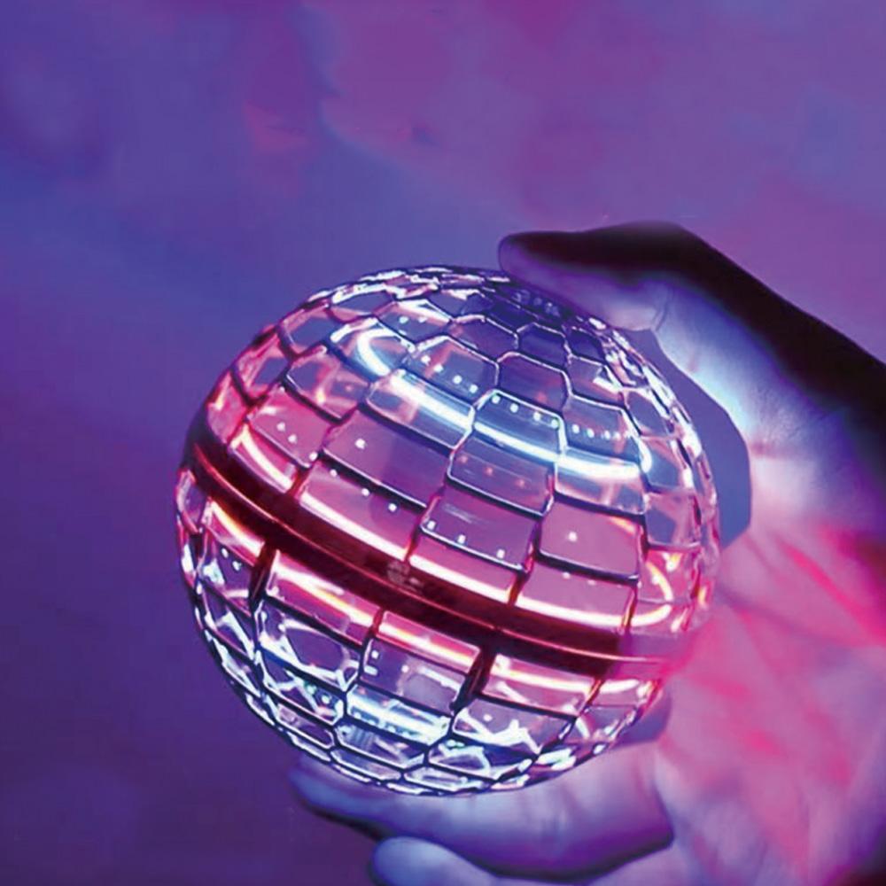 magic floating flying ball flying spinner ball ufo led toy magic flying ball Flying disk