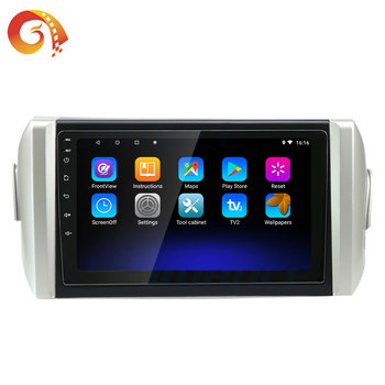 All In One 10 Android Tv Music Stereo System Car Audio Dvd Player For Toyota Innova Crysta With car video