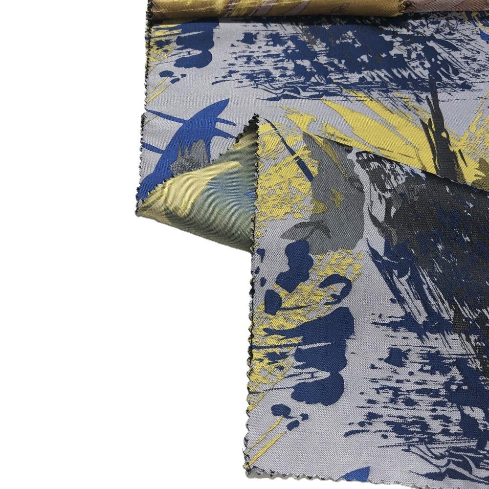 Костюм жаккардовые 100 плетеная полиэфирная ткань для мужская мода дизайн