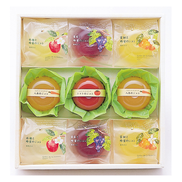 Natural taste and cute-designed assorted instant pudding jelly in Japan