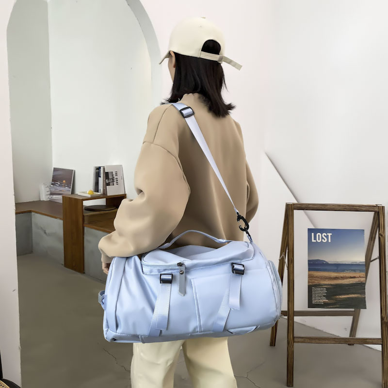 Factory Trade Type customized high quality unisex's nylon Material fashion travel bag